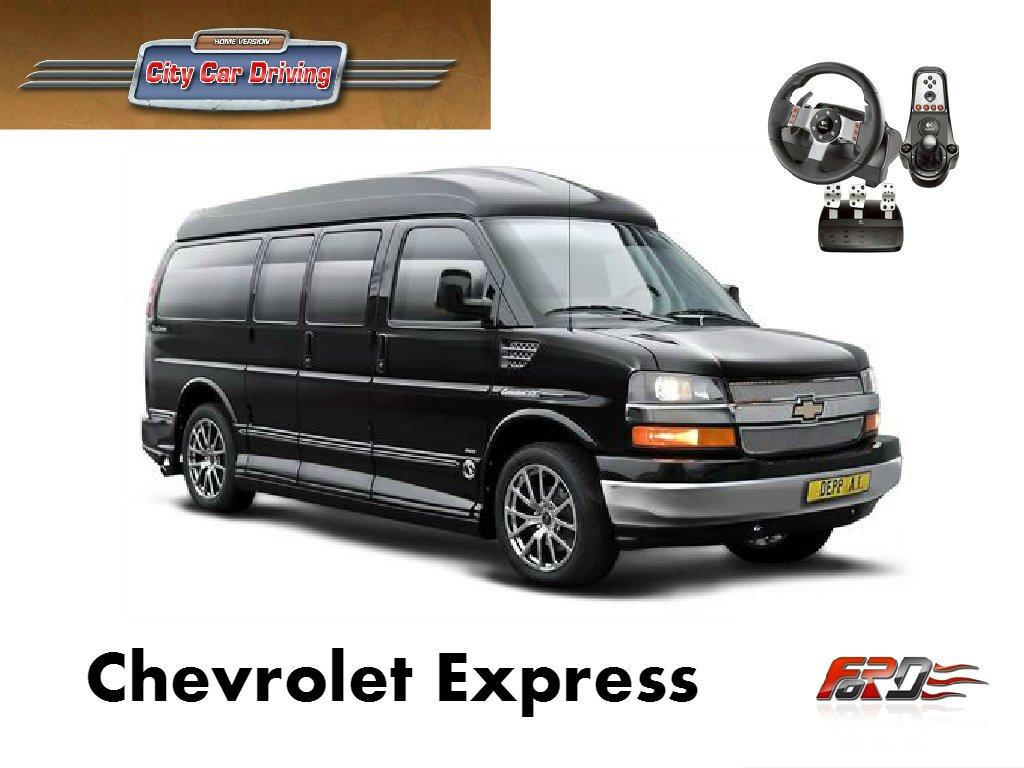 [ City Car Driving ] Chevrolet Express тест-драйв, обзор самого популярного американского фургона  - Изображение 1