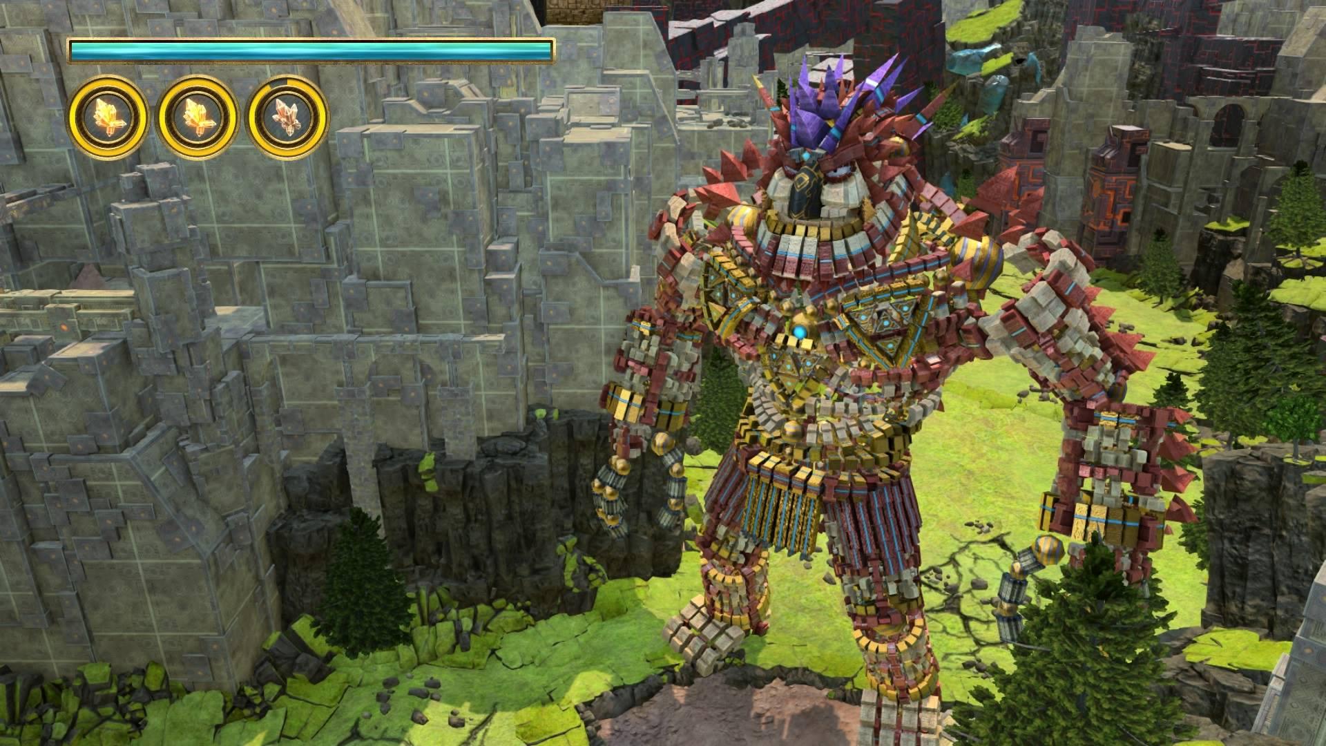 [PS4] Консольный гейминг с Сарказмо – Knack. - Изображение 7