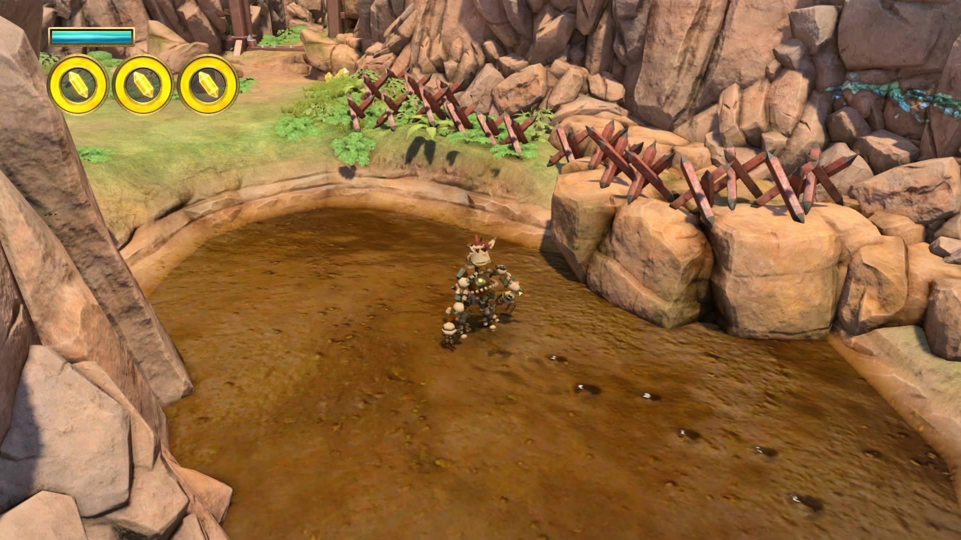 [PS4] Консольный гейминг с Сарказмо – Knack. - Изображение 5