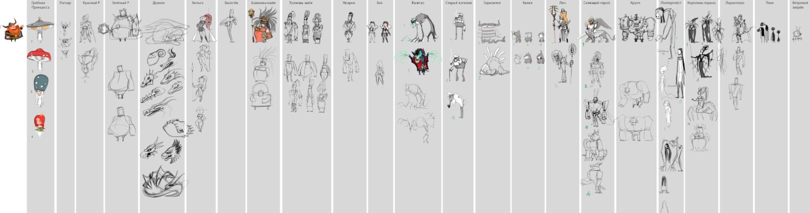 Die With Glory – сник-пик персонажей - Изображение 1