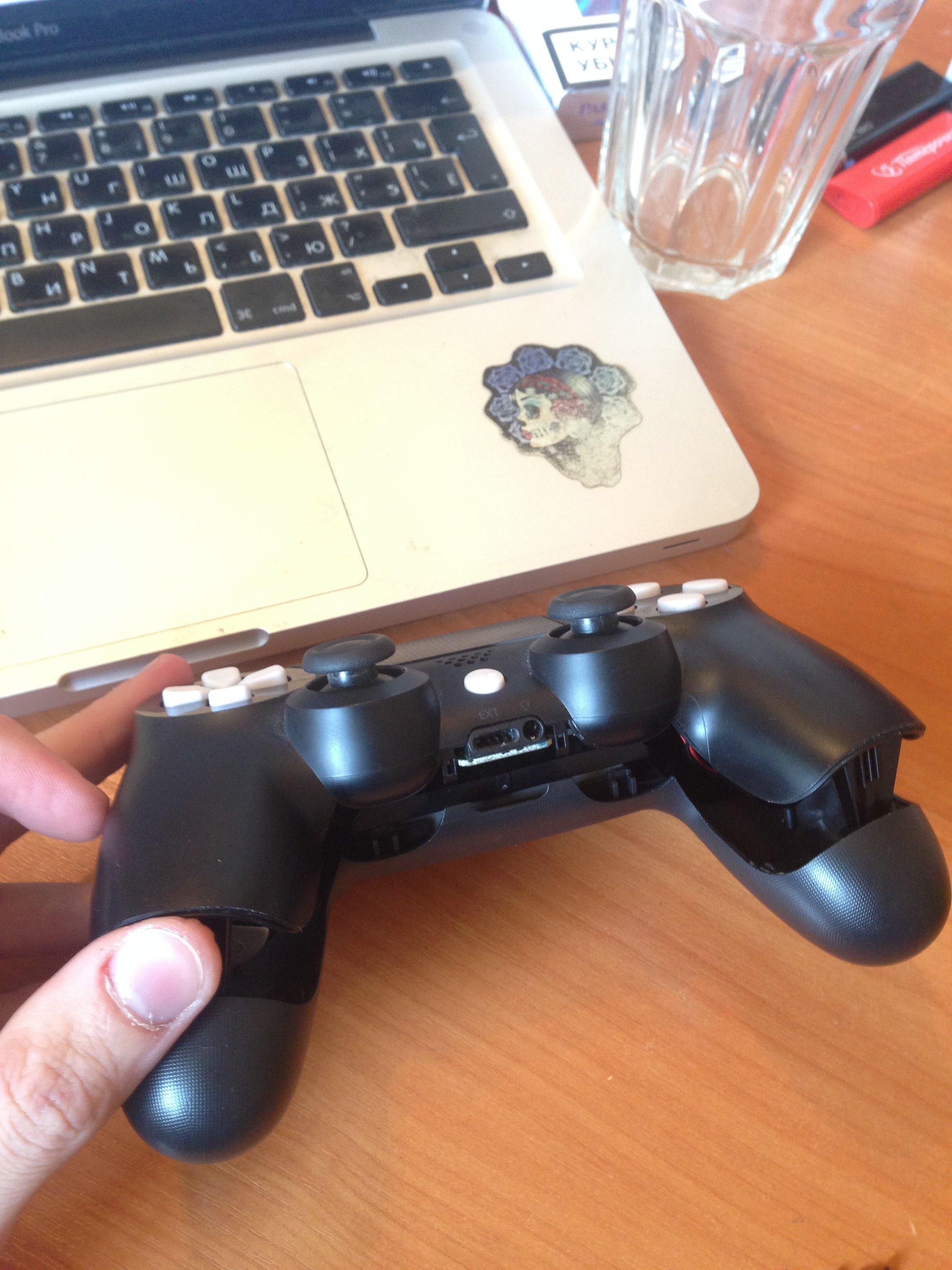 Dualshock 4. Разборка с заменой стиков. - Изображение 7