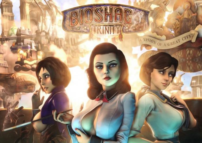 До выхода порно-пародии на Bioshock Infinite 2 недели. - Изображение 1