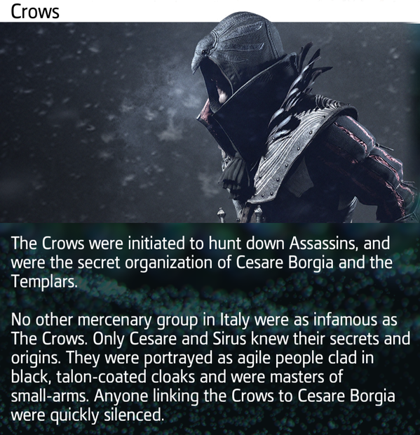Скрытый клинок Ассасина ( Crows )  - Изображение 1