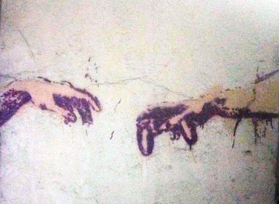 стрит арт Киева! работа PsyFox & TupoiTupak - Изображение 2