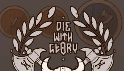 Die With Glory – скетчи логотипа - Изображение 3