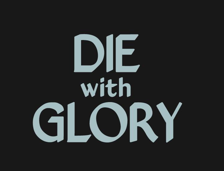 Die With Glory – скетчи логотипа - Изображение 4