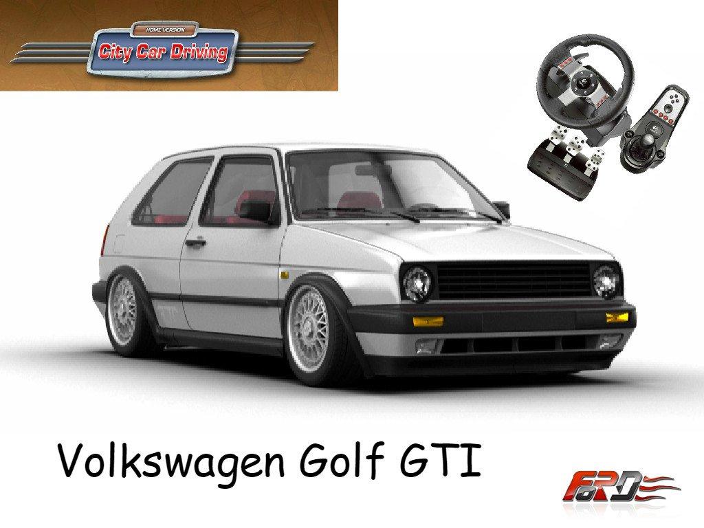 City Car Driving Volkswagen Golf GTI Mk2 тест-драйв, обзор, горячий хэтчбек восьмидесятых  - Изображение 1