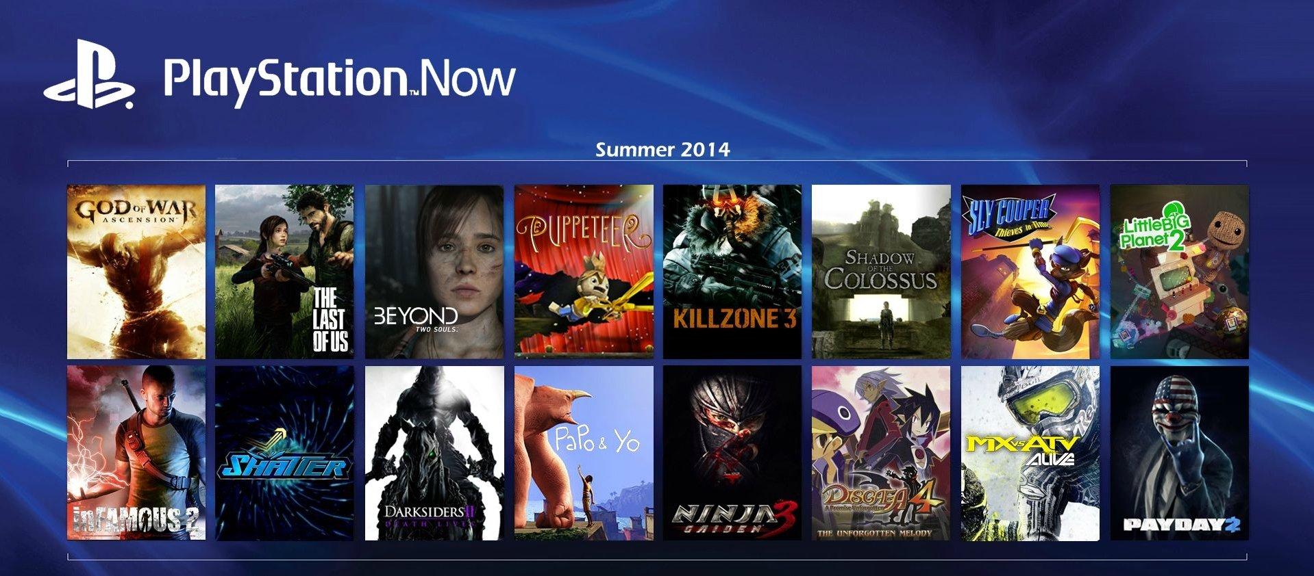 В открытой бете PlayStation Now в Англии насчитывает 176 игр. - Изображение 1