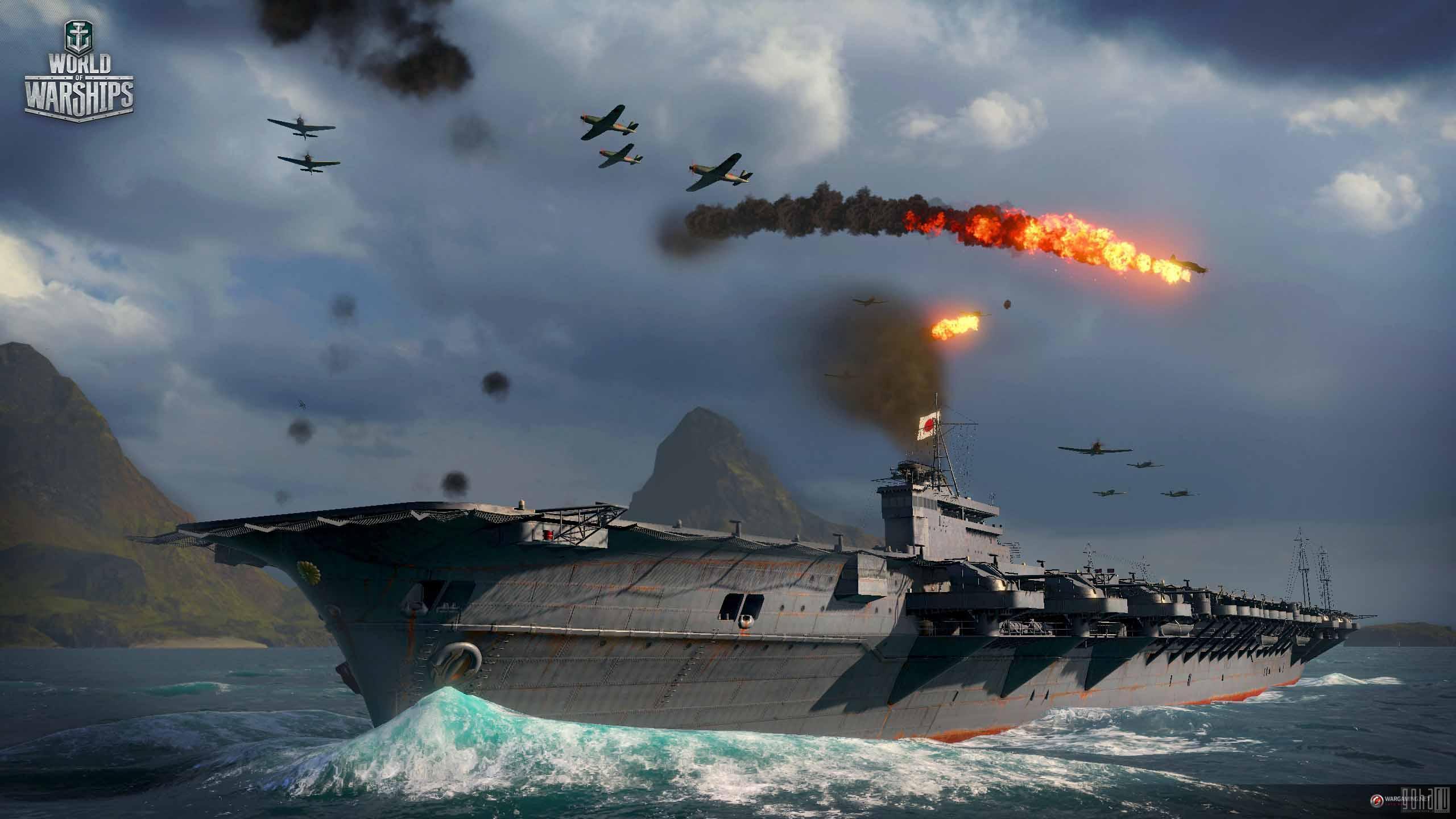 Стартовал ОБТ World of Warships. Полный вперёд!   World of Warships выходит из порта! 2 июля стартовал Открытый Бе ... - Изображение 1