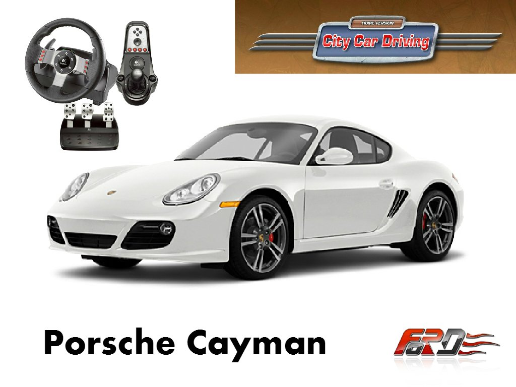 Porsche Cayman R тест-драйв, обзор бюджетного Porshe 911 и замеры Racelogic City Car Driving - Изображение 1