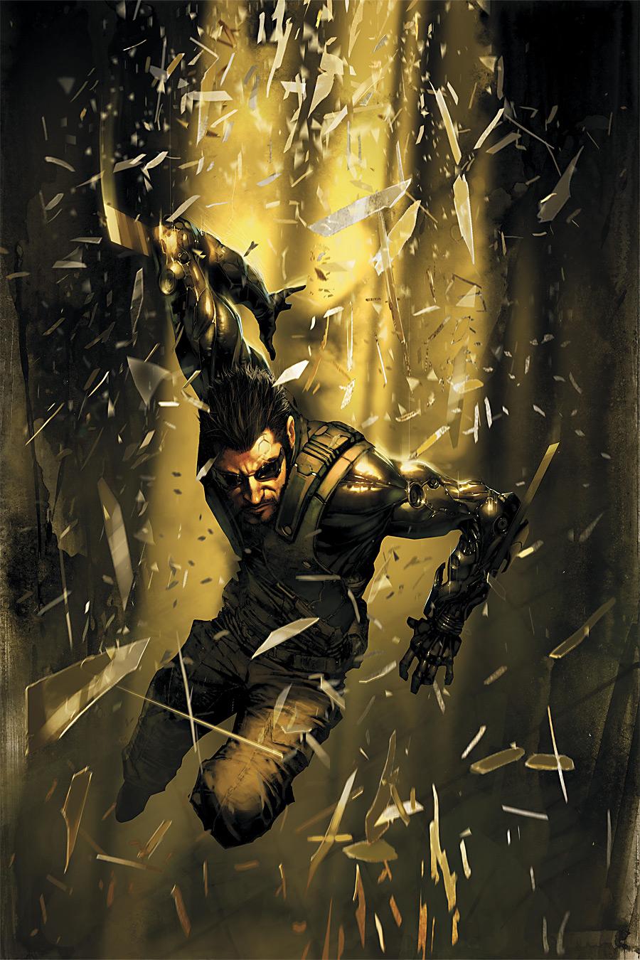 Deus Ex. Human Revolution. Comix short review. - Изображение 1