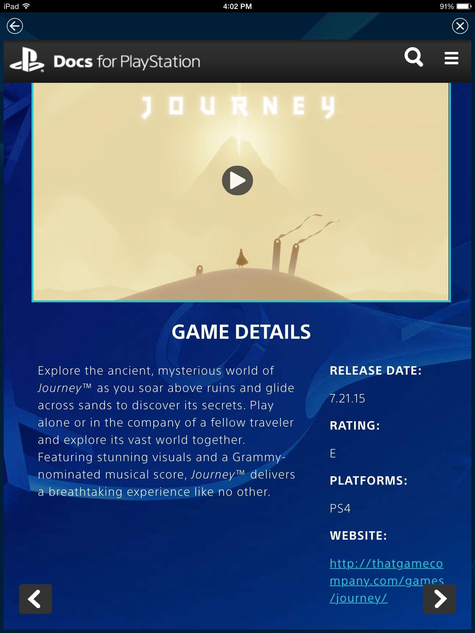Journey на PS4 21 июля - Изображение 1