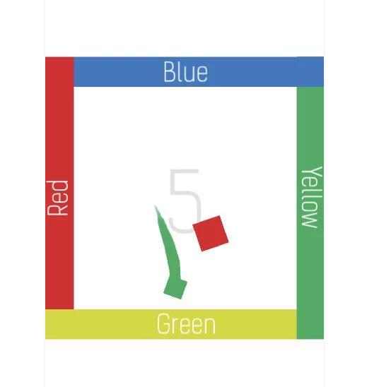 Squares - испытай цветовой диссонанс - Изображение 1
