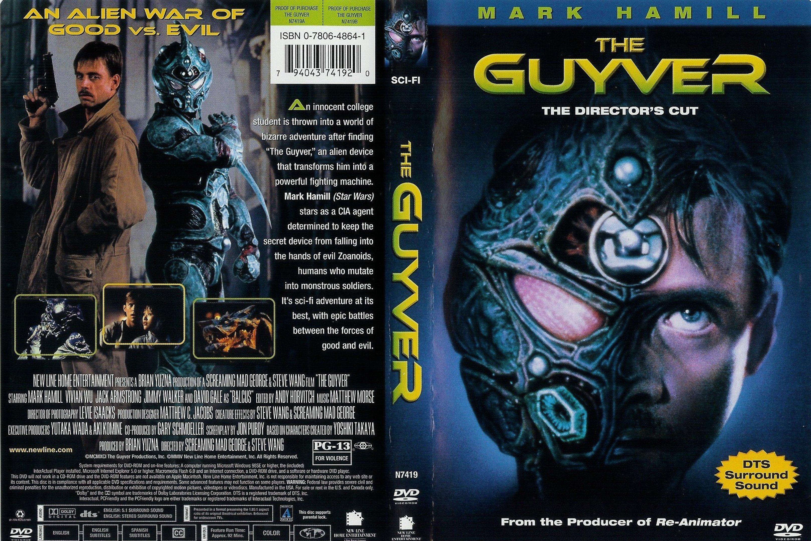 The Guyver: Bio-Booster Armor. Часть 5. Гайвер в кино. - Изображение 2