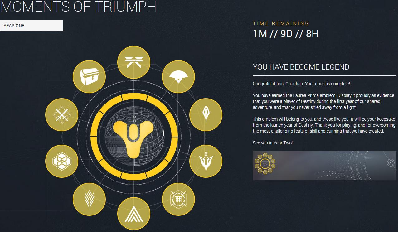 Destiny: Моменты Триумфа. 45 дней до дедлайна - Изображение 1