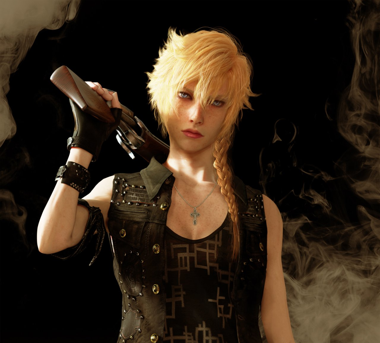 Герои Final Fantasy 15  femail версия. - Изображение 5