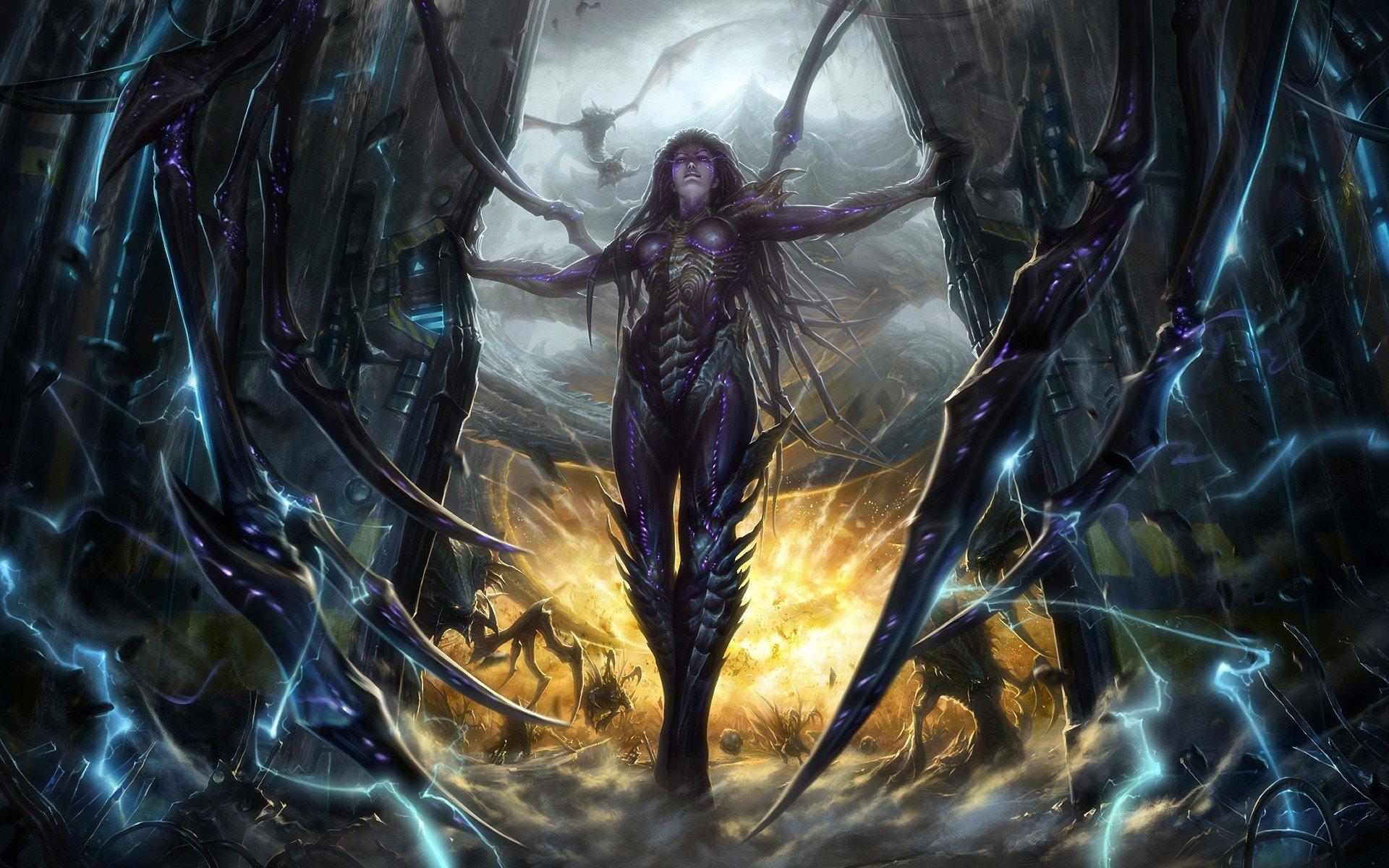 Подборка 54 артов Зергов по StarCraft 2 - Изображение 1