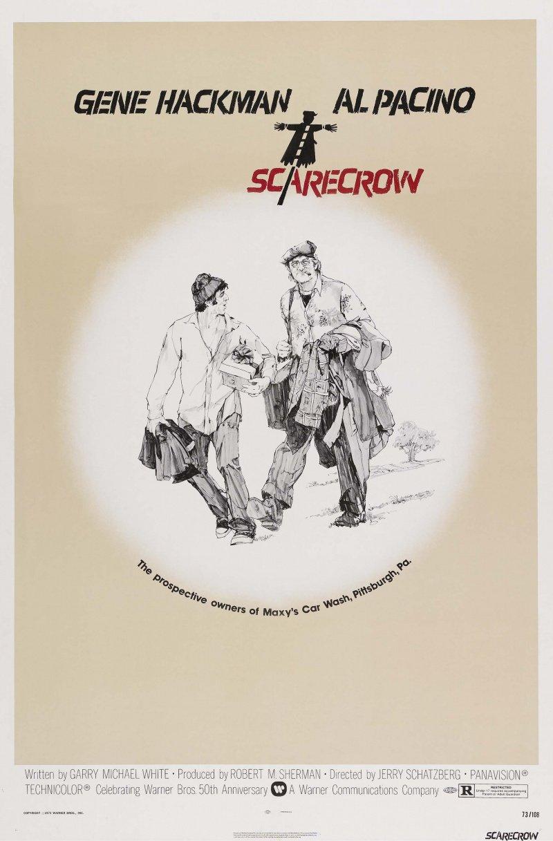 """Kinobest: """"Пугало"""" (Scarecrow) 1973 - Изображение 1"""