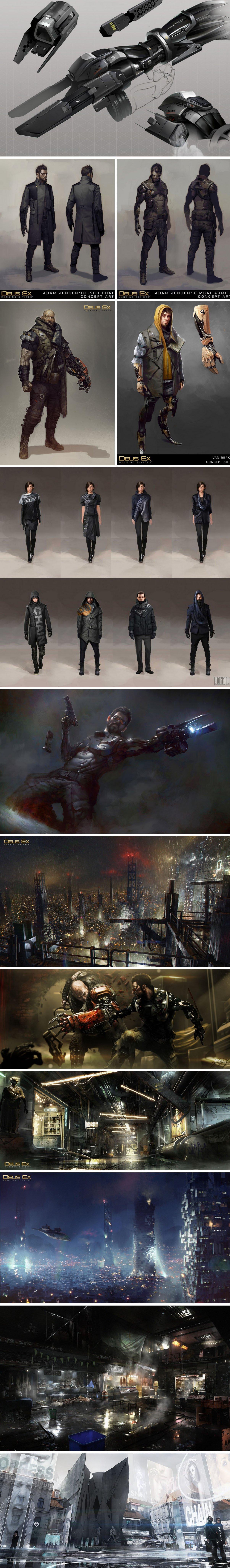 Подборка арта и гифок Deus Ex: Mankind Divided - Изображение 2