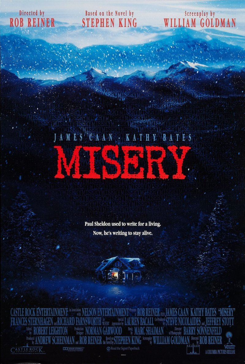 "Kinobest: ""Мизери"" (Misery) 1990 год - Изображение 1"