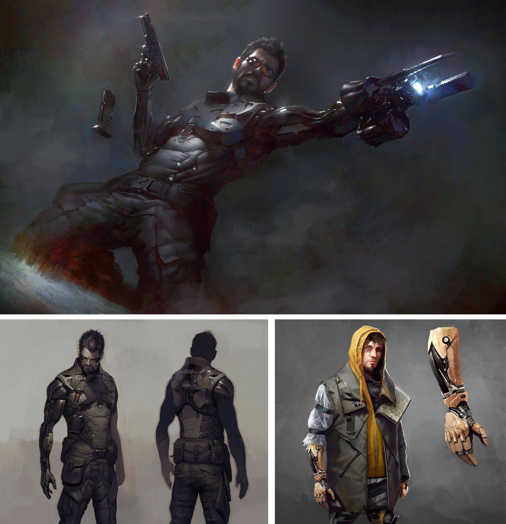 Подборка арта и гифок Deus Ex: Mankind Divided - Изображение 1