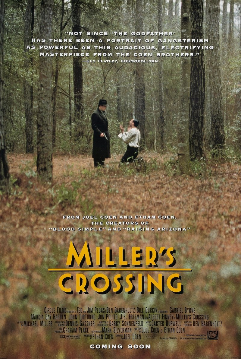 "Kinobest: ""Перекресток Миллера"" (Miller's Crossing) 1990 год - Изображение 1"