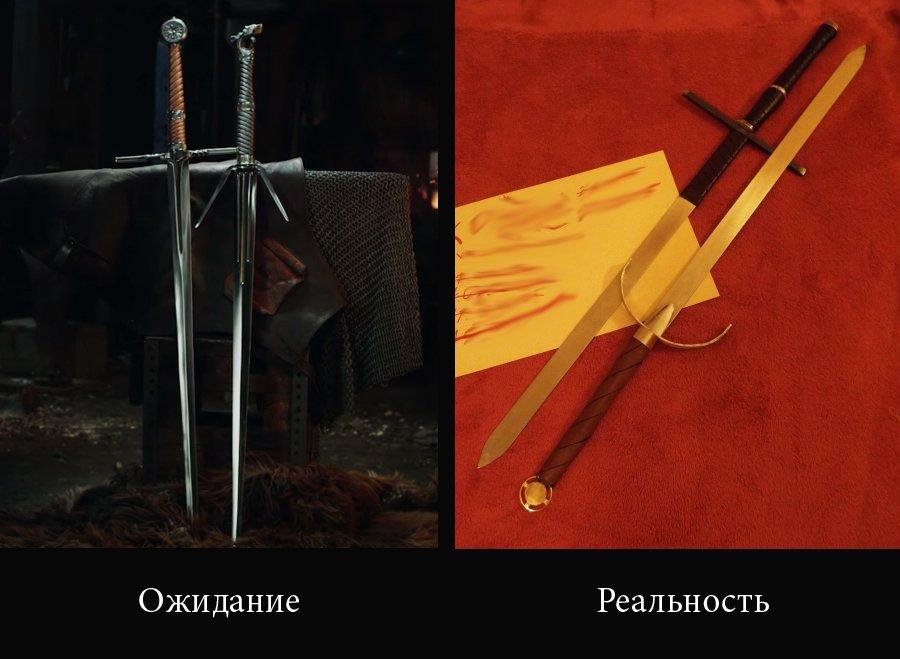 Кода решил сделать мечи Ведьмака  - Изображение 1