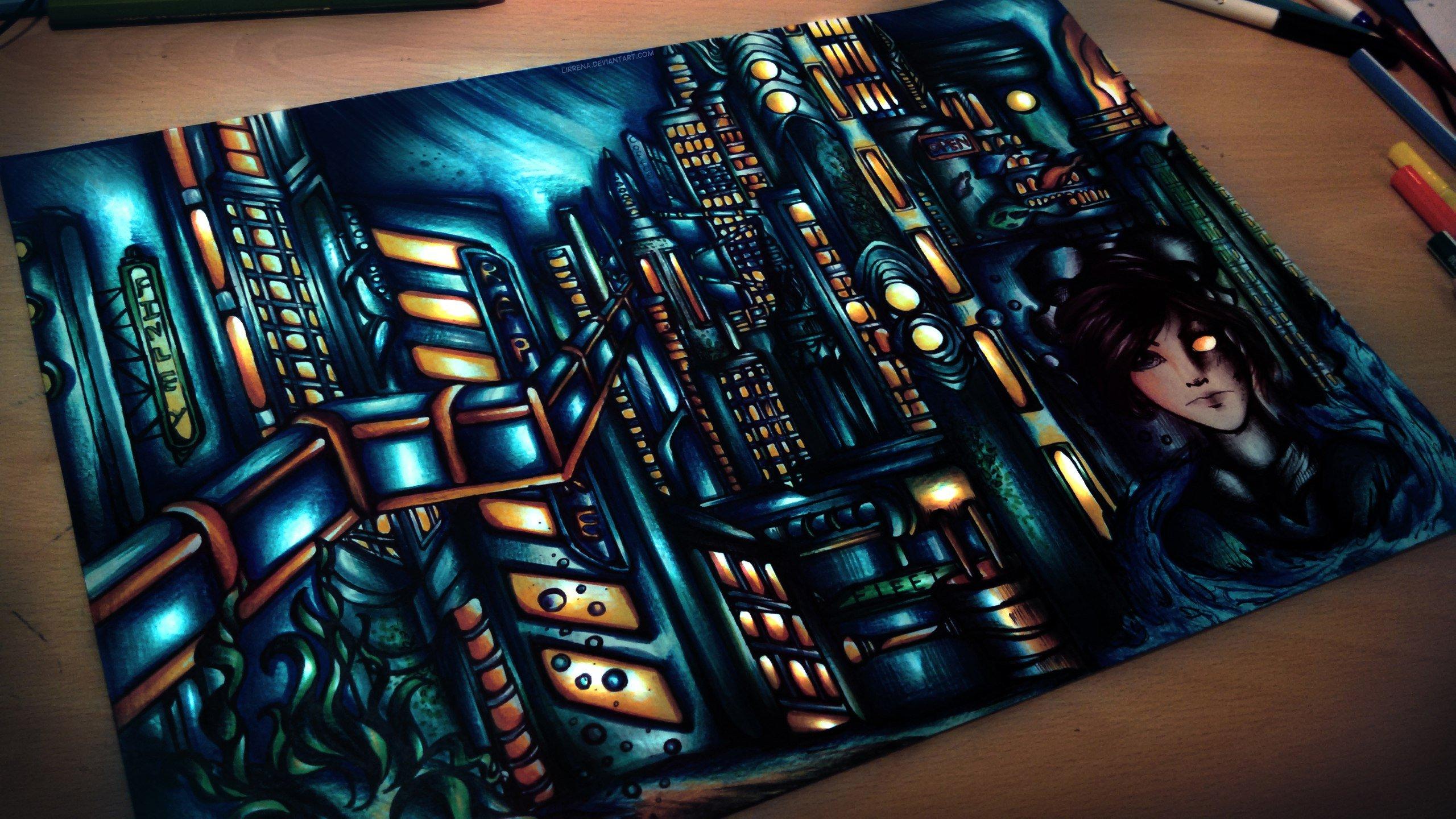 Восторг из Bioshock - Маркерами - Внутри больше - Изображение 1