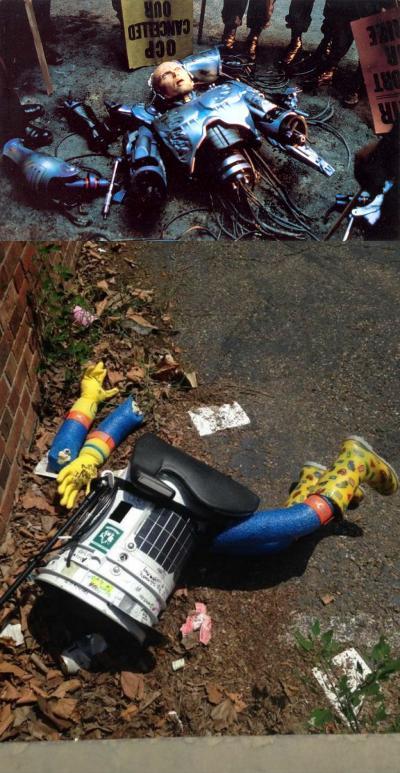 Робота-автостопщика избили в Филадельфии - Изображение 1