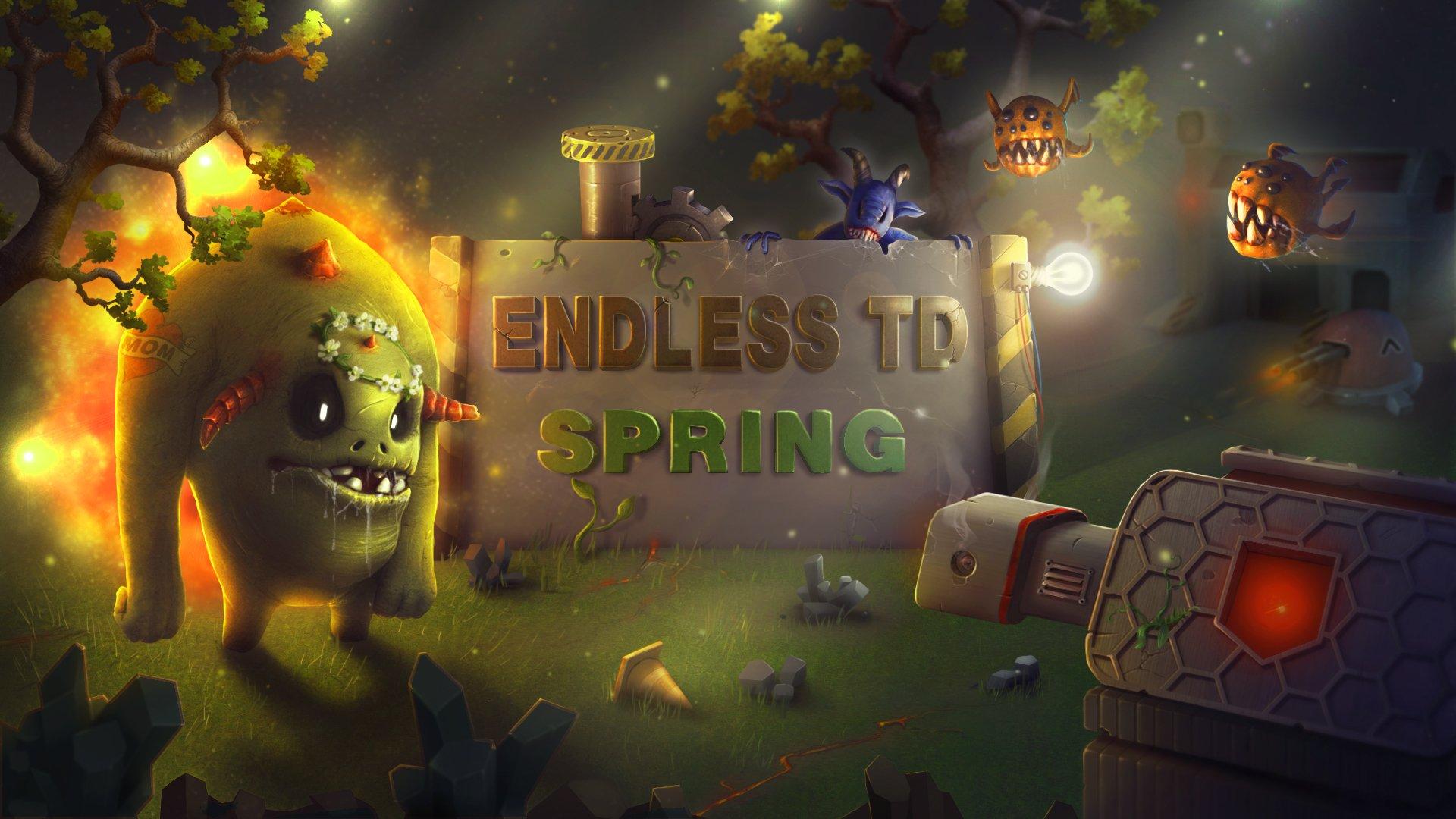 Новый баланс, новая карта и новый фан в перезапущенной «Endless TD — Spring Season»! - Изображение 1