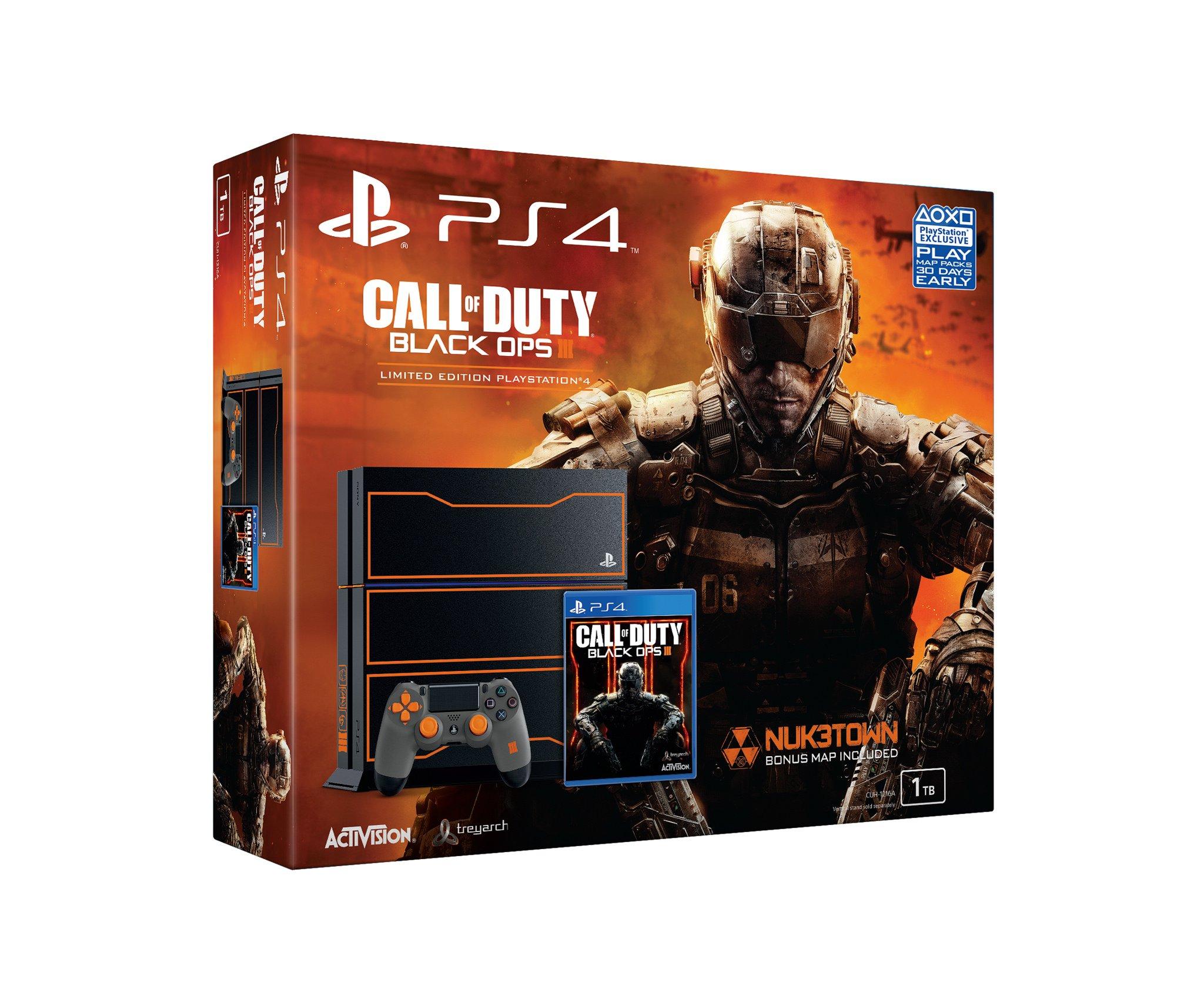 Сони и Активижин анонсировали бандл PS4 и Cod Black Ops III. - Изображение 3