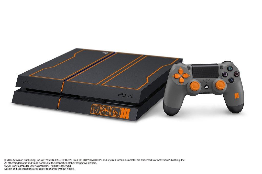 Сони и Активижин анонсировали бандл PS4 и Cod Black Ops III. - Изображение 1