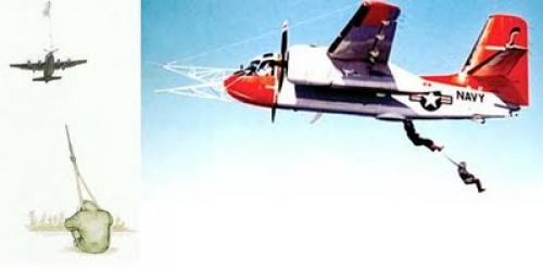 """Система воздушной эвакуации """"Skyhook"""" или """"Фултон"""" - Изображение 1"""