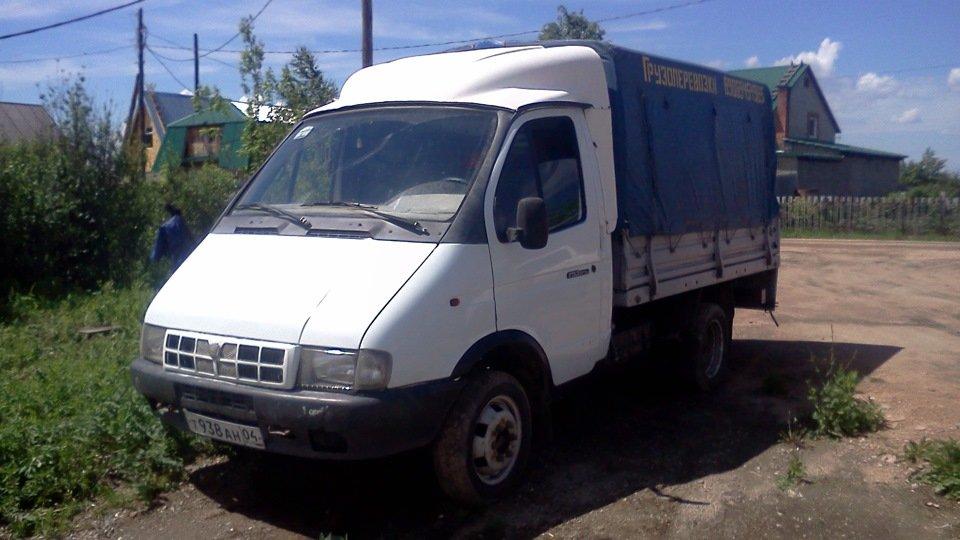 Газель (ГАЗ 33021) - тест-драйв, обзор российского фургона зимой в City Car Driving  - Изображение 1