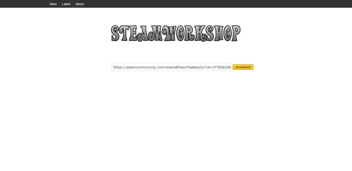 Скачка файлов со Steam Workshop - Изображение 1