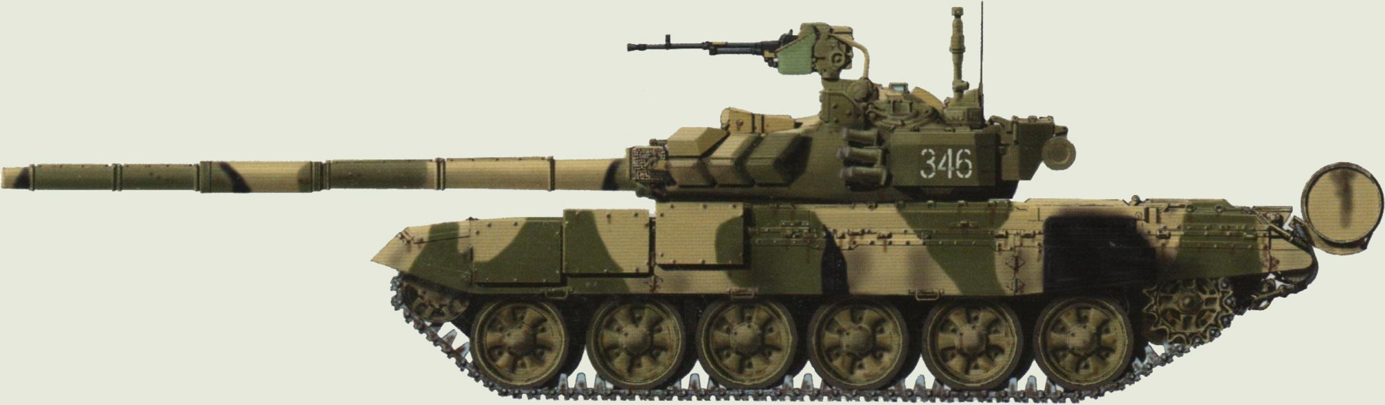 Лучший танк мира Т-90. - Изображение 1