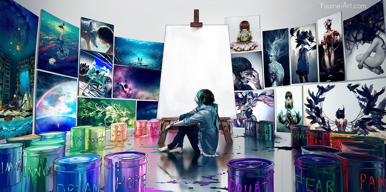 Art Yuumei и ее легкий сюрреализм - Изображение 1