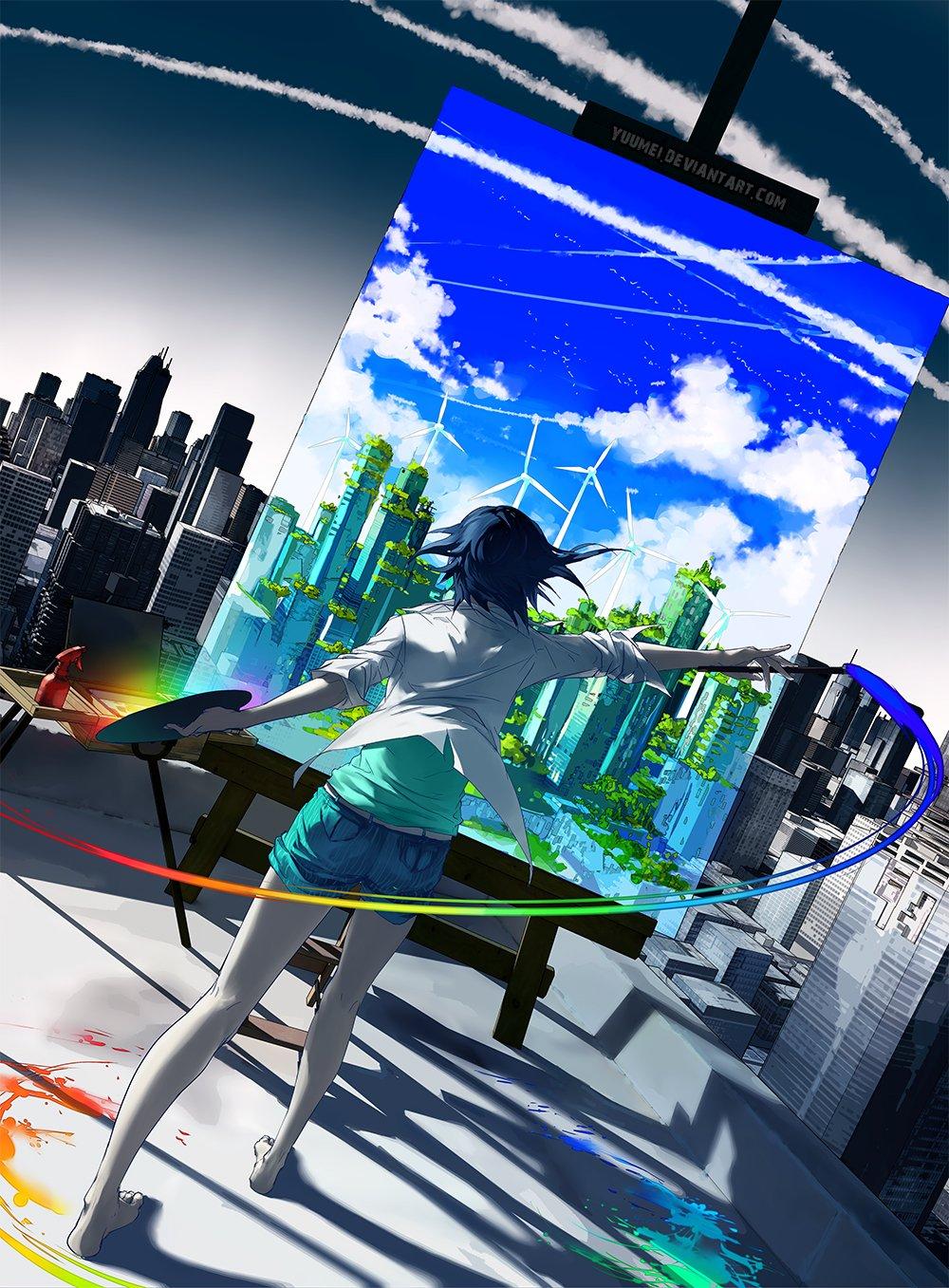 Art Yuumei и ее легкий сюрреализм - Изображение 14
