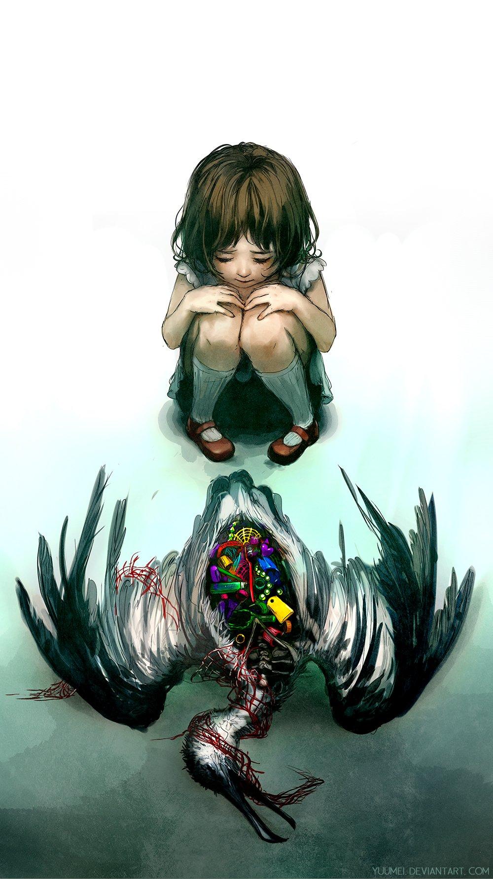 Art Yuumei и ее легкий сюрреализм - Изображение 7