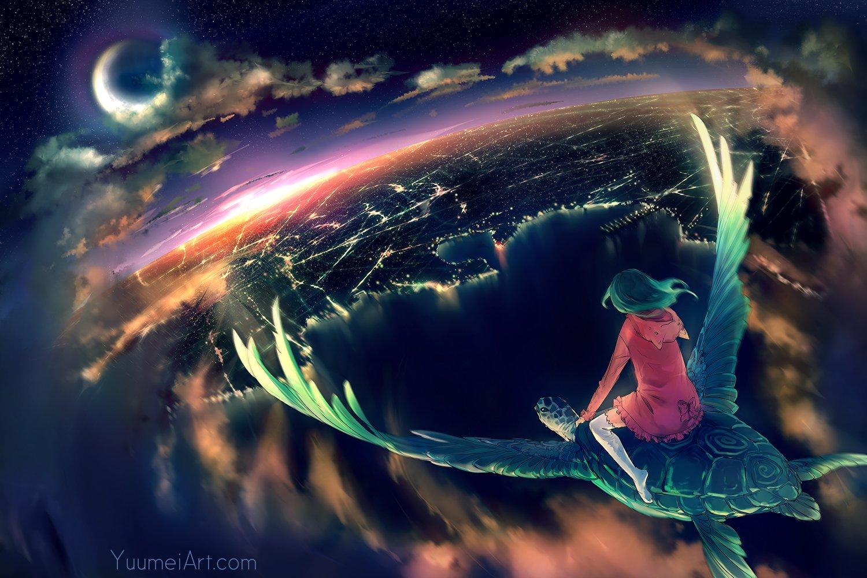 Art Yuumei и ее легкий сюрреализм - Изображение 8