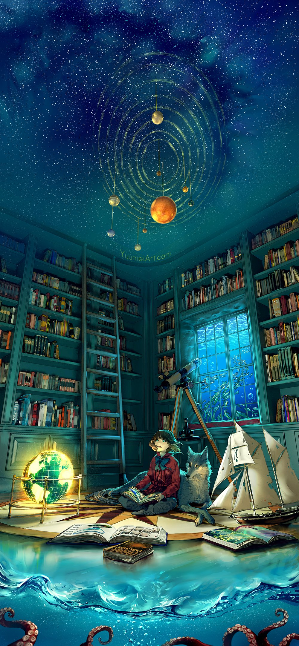 Art Yuumei и ее легкий сюрреализм - Изображение 9