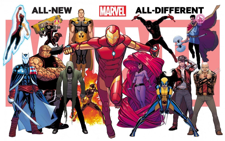 Небольшой обзор-мнение комиксов All-New All-Different Marvel - Изображение 1