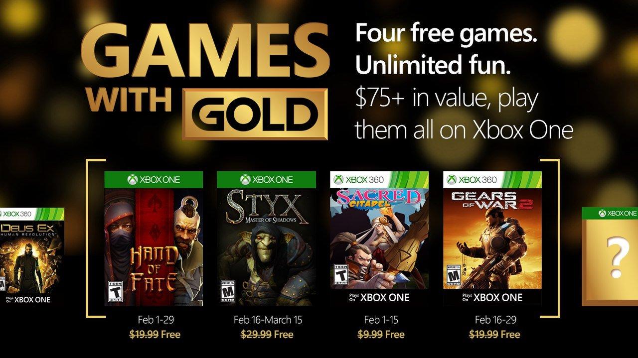 Xbox Gold for February  - Изображение 1