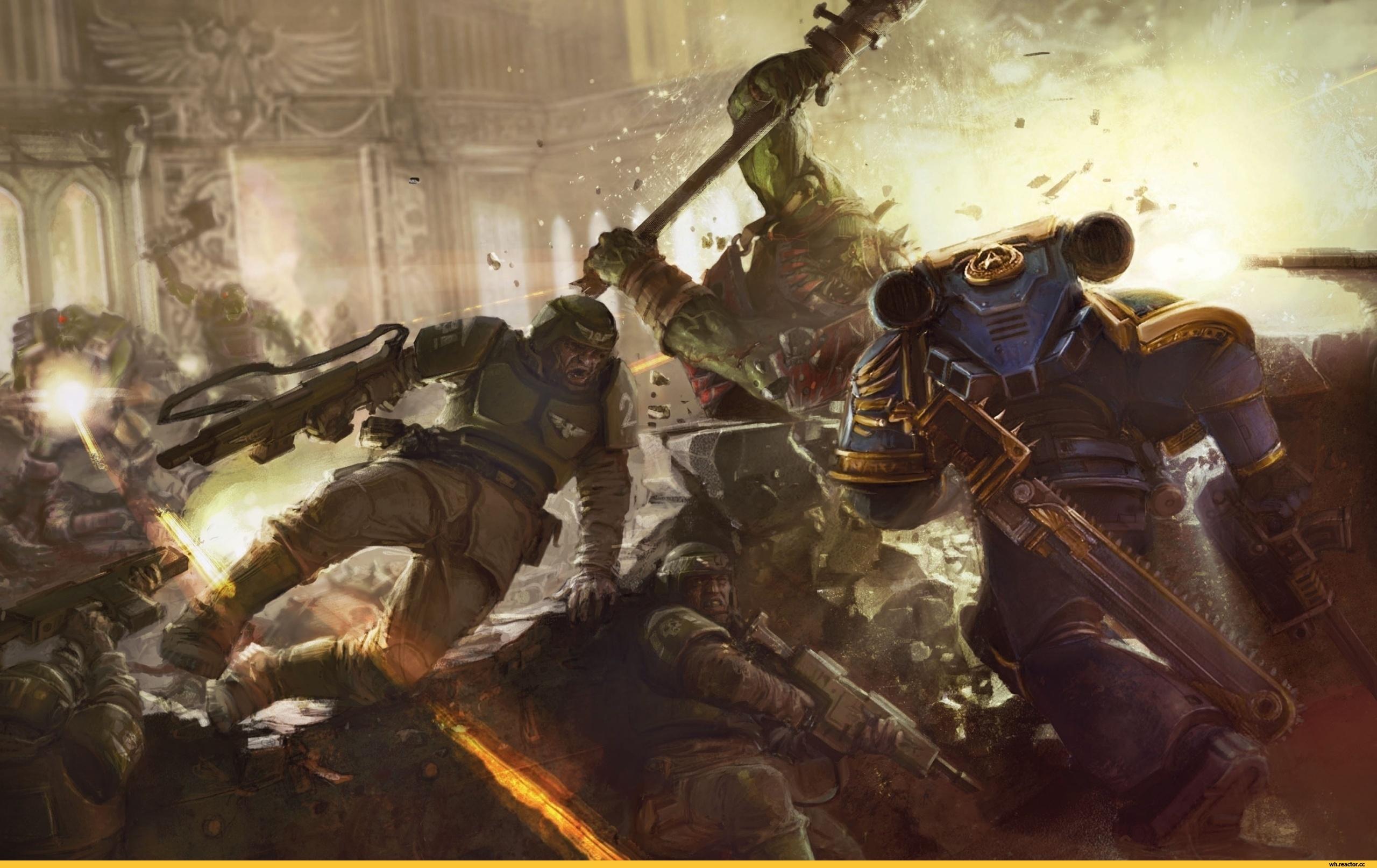 Warhammer 40k как лоскутное одеяло из плагиата - Изображение 2