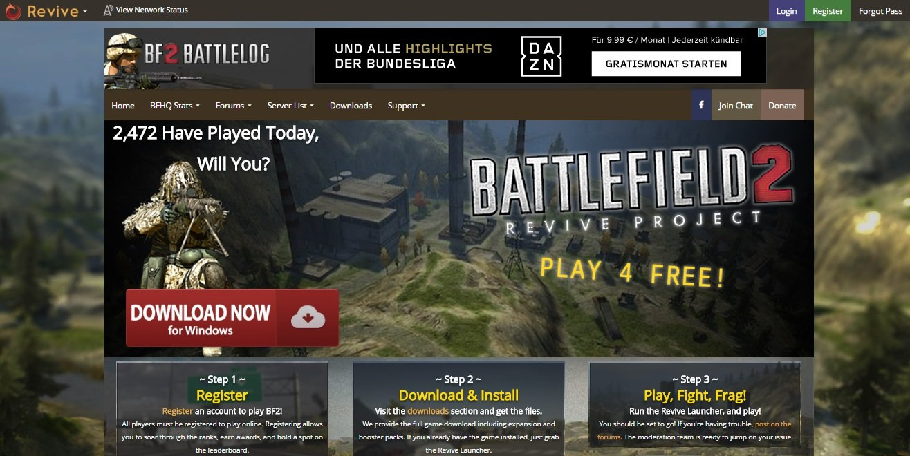 Battlefield 2 & Battlefield 2142 - Revive Project - Изображение 2