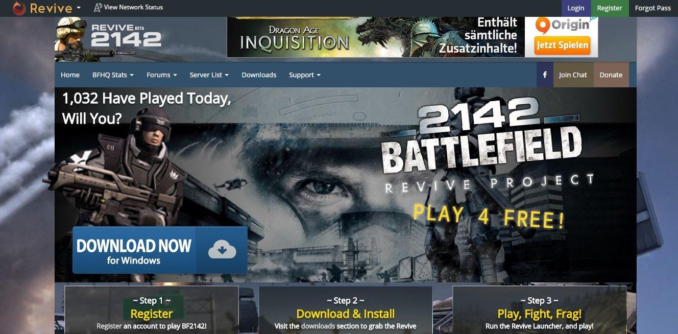 Battlefield 2 & Battlefield 2142 - Revive Project - Изображение 1
