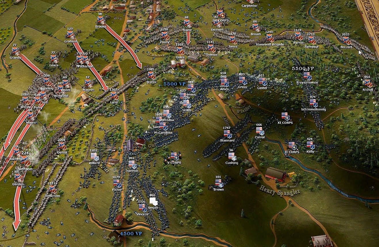 Обманчиво простой симулятор одного сражения - Ultimate General: Gettisburg - Изображение 2