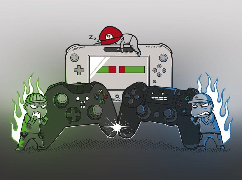 Чарты продаж консолей и игр по версии VGChartz с 20 августа по 1 октября! Xbox One S! - Изображение 1