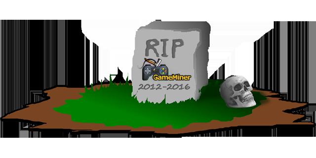 Сайт GameMiner официально RIP. Немного истории. - Изображение 1