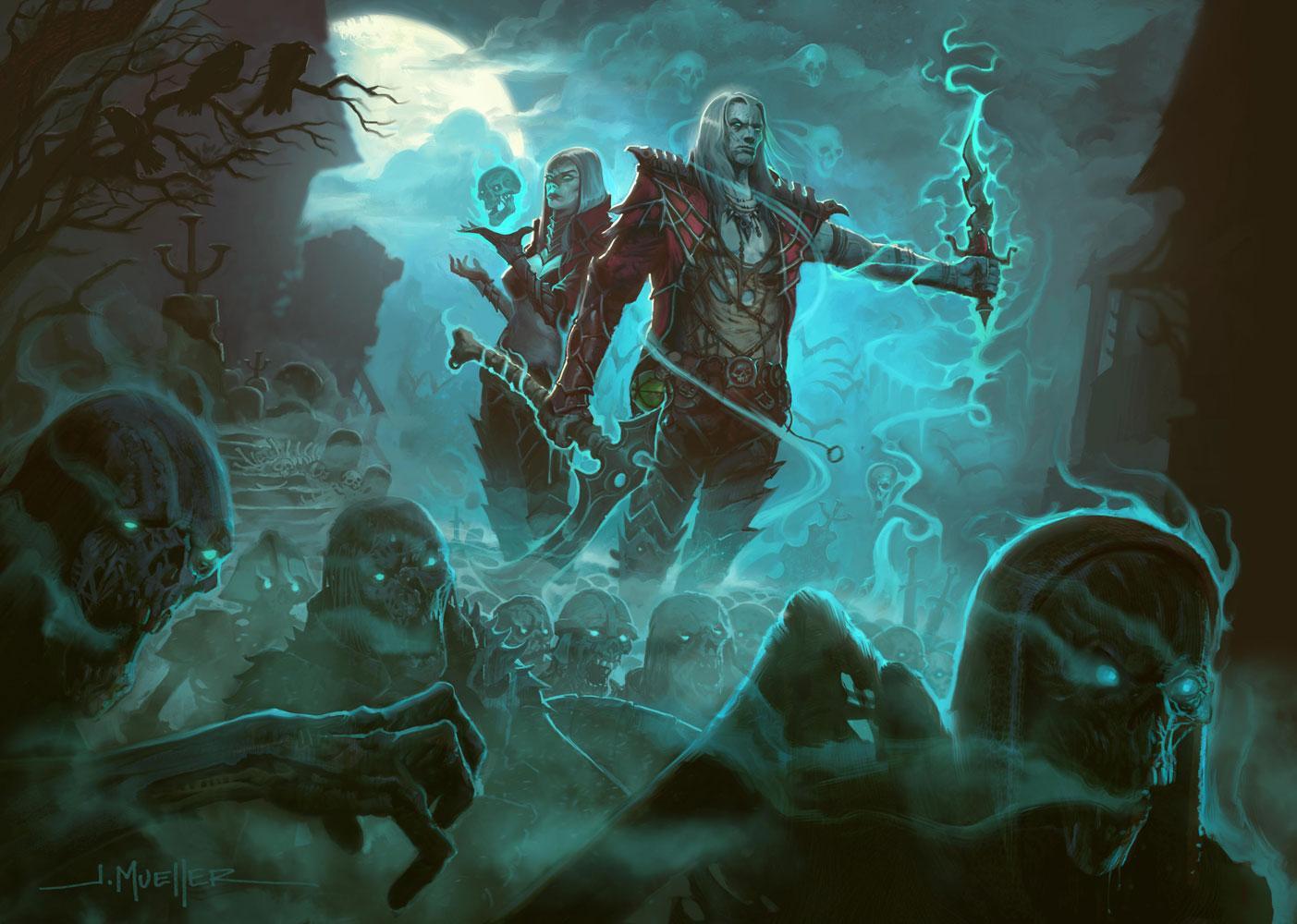 Утечка: в Diablo будет некромант? - Изображение 1